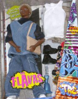 New Flavas Tre Doll Set Hip Hop Boy with Clothes