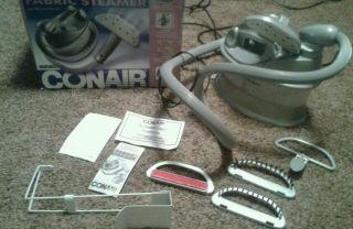 Conair Fabric Steamer 1200 Watt Heater Compact Model GS5R Very Clean
