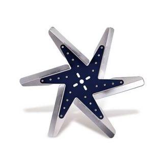 Flex A Lite Universal Low Profile Flex Fan Clockwise Rotation 17 Dia