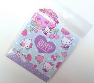 Japan Hello Kitty Face Oil Blotting Tissue Paper 50 Sheets F