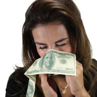 Packs $100 Dollar Bill Facial Napkin Tissue Novelty Faux Money Cash