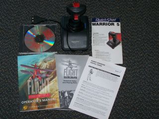 Flight Unlimited Flight Simulator PC Game Quickshot Joystick