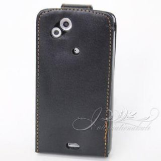 leather Flip Cover Case For Sony Ericsson Xperia ARC X12