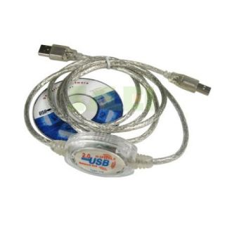 USB to USB Direct Net Link File Transfer Data Cable PC