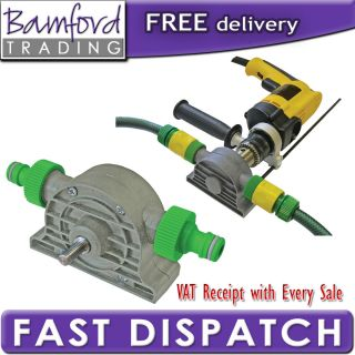 Bamford Trading   Faithfull Power Drill Water Pump Attachment 1800 L
