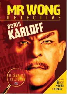Complete Collection New DVD 6 Films Boris Karloff 089859850622