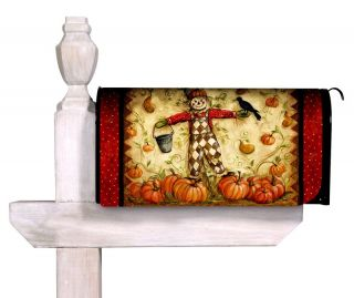 Happy Harvest Fall Thanksgiving Mailbox Cover Wrap