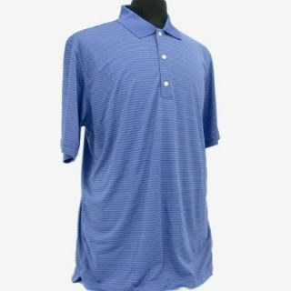 Greg Norman Tech Performance Fine Line Stripe Polo G7S2K414 Four