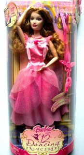Barbie 12 Dancing Princesses Princess Fallon Doll New