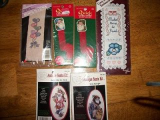 Huge Lot Cross Stitch Embroidery Floss 22 Kits Supplies