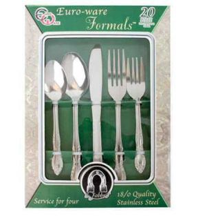 o Ware Formals 20 Piece Stainless Steel Cutlery Set Item 2100