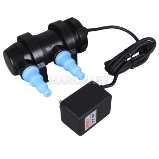 Sterilizer Aquarium Fish Pond Clarifier Tank Lamp+Power supply NEW