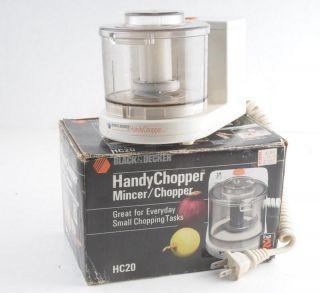 Black Decker Handy Chopper Food Mincer Chopper HC20