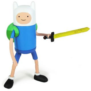 Time Finn Jake 10 inch Figure Changing Face Deluxe Finn