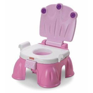 Fisher Price Stepstool Musical Potty Training Chair New