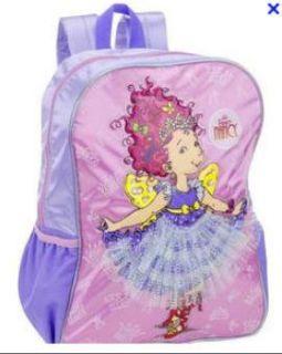Fancy Nancy Shiny Satiny Butterfly Lace Skirt Standard Backpack 16x12
