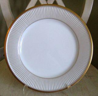 Fitz Floyd Classique D Argent Porcelain Dinner Plate S