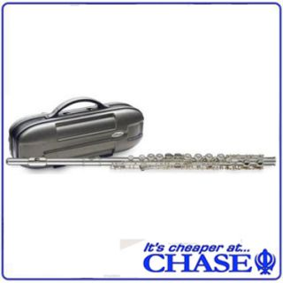 Chase Elite Flute Silver Hard Case Free Flute Stand