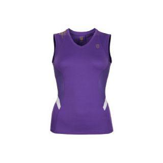 Accessories K Swiss Womens Run Sleeveless Mjstc Purple/White Shoes