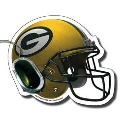NFL Green Bay Packers Football Helmet Design Mouse Pad
