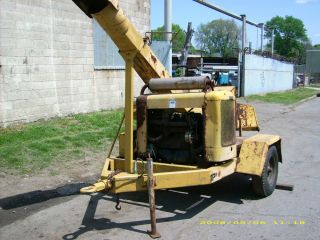 FITCHBURG WOODCHIPPER WOOD CHIPPER *NO RESERVE*