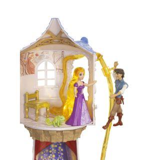 PRINCESS TANGLED RAPUNZELS MAGICAL TOWER PLAY SET MAXIMUS FLYNN NEW