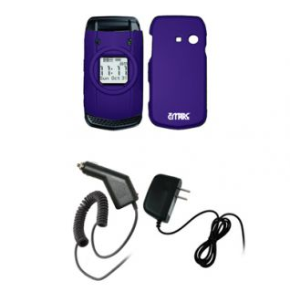 For Casio GZone Ravine Purple Hard Case 2X Chargers