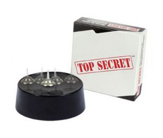 Fascinations Top Secret Kinetic Levitron Spinning Spin Toy