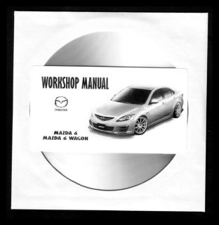 MAZDA 6   MANUAL DE TALLER   WORKSHOP MANUAL   MANUEL REPARATION