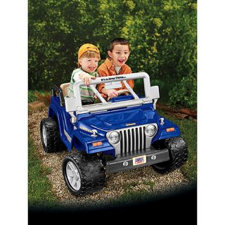 Fisher Price Power Wheels Jeep Wrangler Rubicon Ride On 12 Volt W