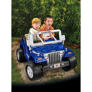Fisher Price Power Wheels Jeep Wrangler Rubicon Ride On 12 Volt W
