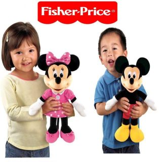 Disney Sing & Giggle Mickey Mouse Plush Doll Hug & Sing Toy by Fisher