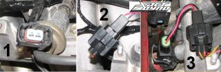 OBD2 to OBD1 Fuel Injector Conversion Harness Honda Civic Integra RC