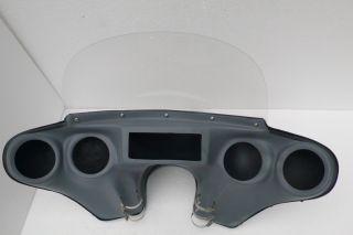 Harley Davidson Style 5 inches Detachable Fairing for Honda VTX 1800