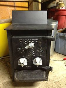 Fisher Wood Burning Stove Bear Fireplace Wood Burner very clean recent