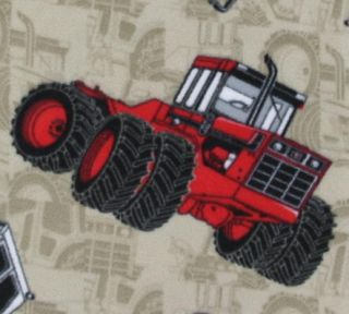 Very Soft International Harvester Fleece Fabric by The Yard