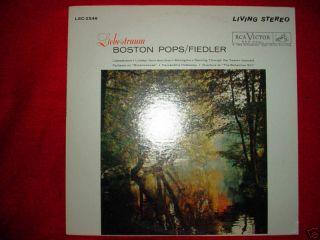 FIEDLER BOSTON POPS LIEBESTRAUM RCA RED SEAL 0289