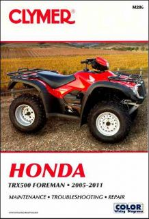 Honda TRX500 Foreman Repair Shop Manual 2005 2006 2007 2008 2009 2010