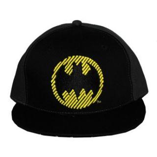 Batman DC Comics Super Hero Logo Comic Panel Flat Bill Cap Hat