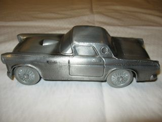 1955 Ford Thunderbird Diecast Metal Bank 1 24 Scale Car