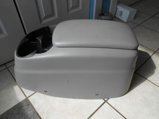 FORD F150 F 150 ARM REST CENTER CONSOLE CD Changer DUAL CUP HOLDER