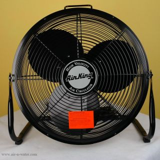 Air King 9218 Electric Floor Fan Effective Room Cooling Ventilation