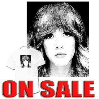 Stevie Nicks T Shirt Fleetwood Mac McVie ArAvailable