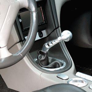 79 04 Ford Mustang Billet Rock Crusher Shifter Arm Billet Shift Knob