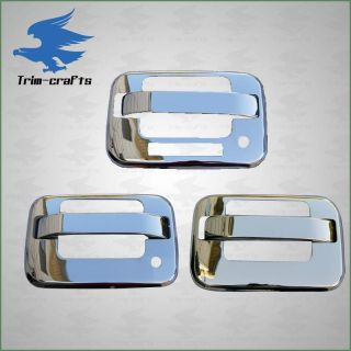 04 11 Ford F150 Stainless Steel Door Handle Tailgate Covers Keypad 08