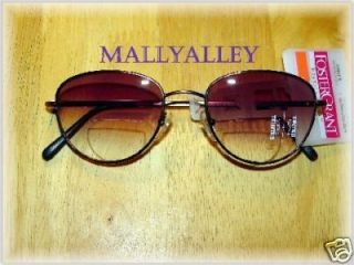 Foster Grant Bifocal Reading Tinted Sunglasses NEW SunReaders +2.00