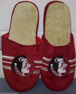 Florida State Seminoles Team Stripe Mens Slippers NCAA