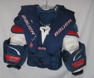 Used Bauer Elite LE Sr M Ice Hockey Goalie Chest Protector