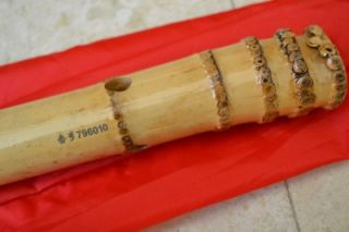 Hole Dongxiao w. U Mouthpiece Full chromatic Note Bamboo Flute