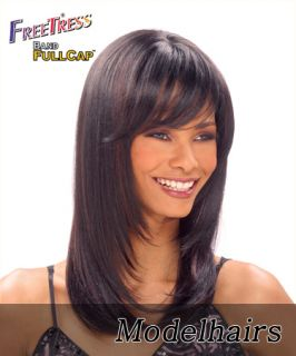 Long FreeTress Synthetic Hair Wigs San Francisco